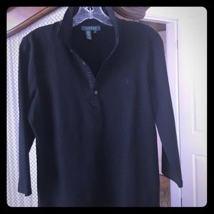 Black cotton top.